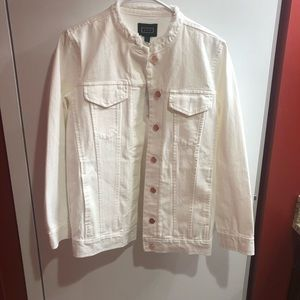 AYR White Doublestar Denim Jacket